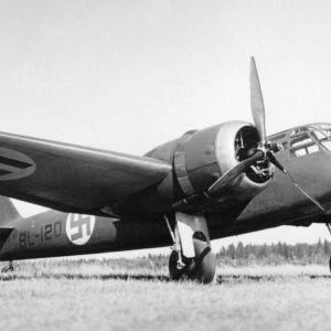 Kaksimoottorinen Blenheim-pommikone oli 1930-luvulla koneiden aatelia