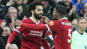 Mohamed Salah, Liverpool.