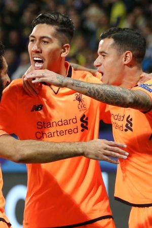 Liverpool slaktade Maribor i Champions League.