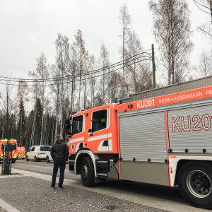 Rubinringen 1 i Kivistö i Vanda i dag.