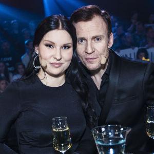 Annica Milán & Kimmo Blom Uuden Musiikin Kilpailun finaalissa.