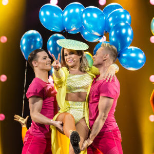 Krista Siegfrids esiintyy Uuden Musiikin Kilpailussa 2018