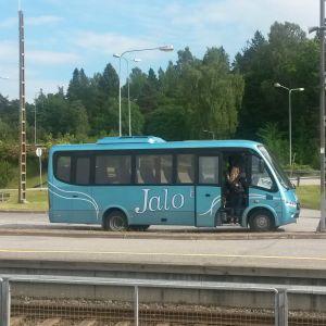 En buss.