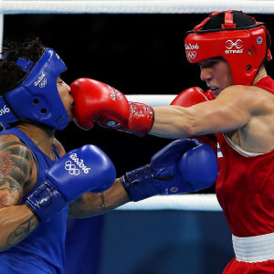 Mira Potkonen vann sin första match i Rio.