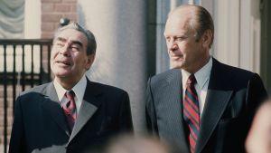 Leonid Brezjnev och Gerald Ford, 1975