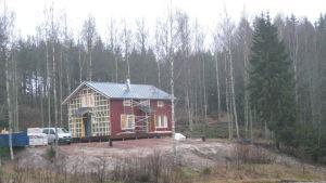 Klimatvänliga K3-huset i Fiskars.