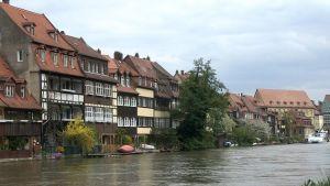 Lilla Venedig i Bamberg.