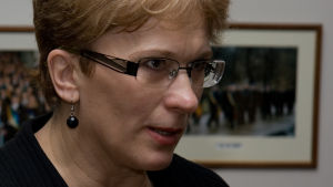 latvialainen naispoliitikko