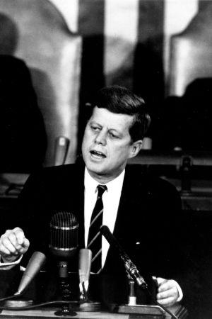 USA:s ex-president John F Kennedy