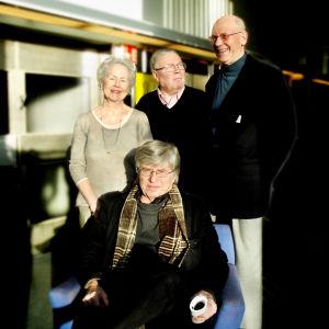 Jutta Zilliacus, Ralf Friberg, Per-Erik Lönnfors