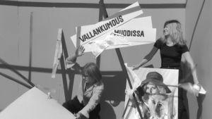 Titta Karakorpi ja Hannu Oravisto aloittavat Kesäkapinan.