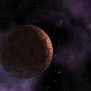 En konstnär har gjort en visualisering av Sedna.
