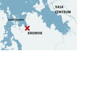Karta med Kronvik.