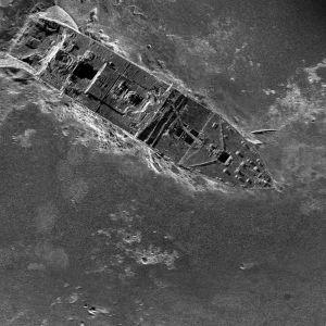 Uudella tekniikalla saatu kuva Titanicin keulasta