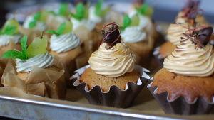 Pauls två söta och salta cupcakes