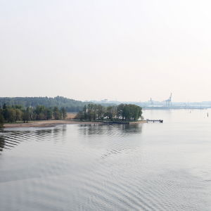 Vy över Runsala i Åbo.