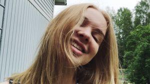Uuden Päivän näyttelijä Lotta Lehtikevari.