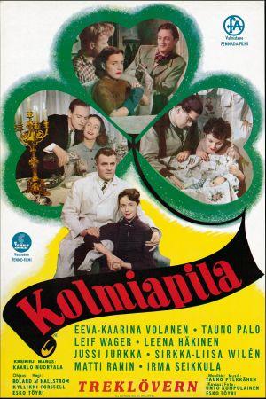 Kolmiapila-elokuvan juliste (1953).