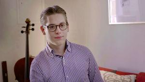 Kapellimestari Klaus Mäkelä.