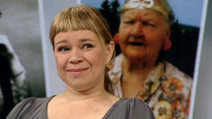 Näyttelijä Katja Küttner (2010).