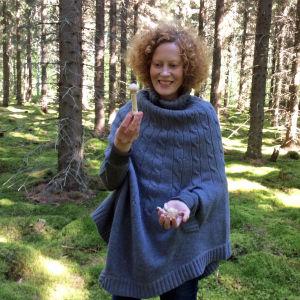 Saimi Hoyer iloitsee kehnäsienestä