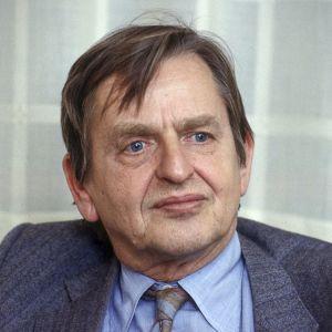 Arkivbild på Olof Palme från år 1984