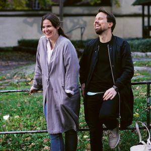 Charlotta Munsterhjelm och Anton Häggman