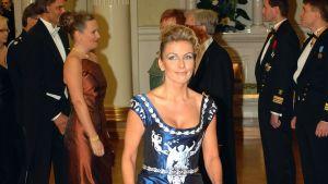 Tanja Karpela på Självständighetsmottagningen 2001