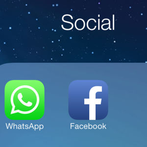 Whatsapp och Facebook