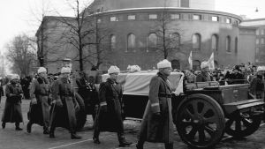 Mannerheims begravning, 1951