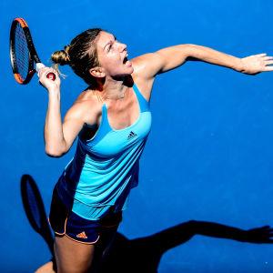 Slutspelat för (4) Simona Halep - utslagen i Australian Open