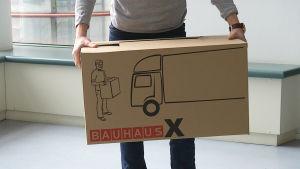 Bauhaus muuttolaatikko