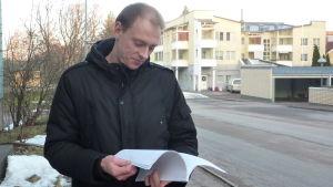 Stadsstyrelseordföranden Anders Walls (SFP) har lett arbetet med den rätt nya stadgan. Han är nöjd med den.