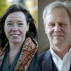 Åsa von Schoultz och Göran Djupsund.