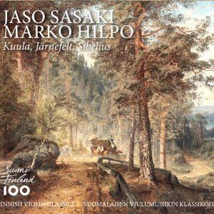 Jaso Sasakin ja Marko Hilpon levyn kansikuva.