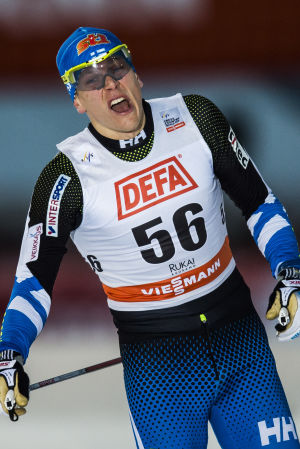 Matias Strandvall hade inga problem i kvalet.