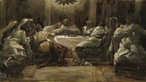 Jesus sista måltid av James Tissot.