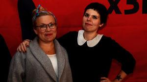 Karin Palmén och Maria Ahonen.