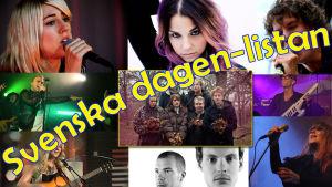 Några av artisterna på Radio X3Ms svenska dagen-lista