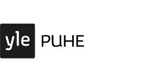 Yle Puhes logo.