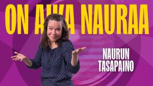 Naurun tasapaino 2015 kilpailija Saana Peltola