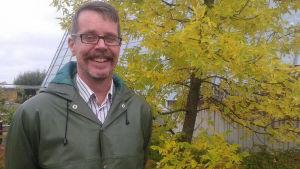 Kasvifysiologian professori Kurt Fagerstedt