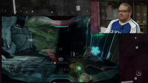 Benny Holmström spelar Halo 5
