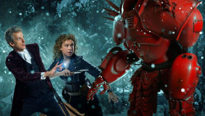 Doctor Who -sarjan jouluspesiaali 2015, Tohtori (Peter Capaldi) ja River Song (Alex Kingston)