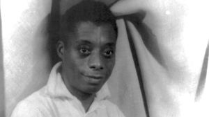 James Baldwin år 1955.