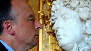 Stephen Smith ja kuningas Ludvig XIV:n muotokuva