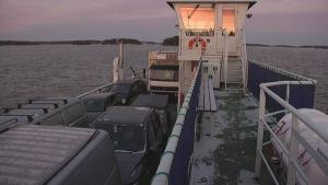 Förbindelsebåten Viken.