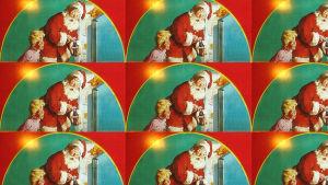 Coca Colas reklam med julgubben.