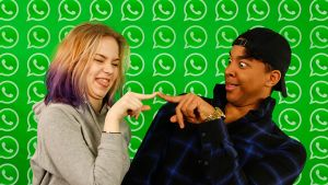 Meri ja Ani WhatsApp