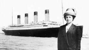 Anna Turja Titanicin edustalla
